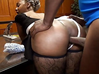 Big booty maid Lexi Amor gets fucked hard