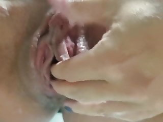 MY FUCKING BIG SLUTTY WHITE CLIT AFTER BLACKED IN USA