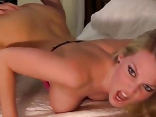 Gorgeous Blonde with Nice Shaved Pussy Enjoying Hot Fuck