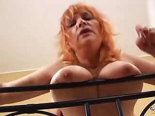 busty hairy mature rough fucked