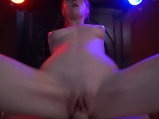 POV Teen Girl Massages & Rides For A Happy Ending