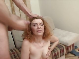 Russian ugly mature amateur