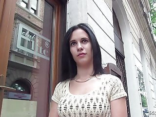 GERMAN SCOUT - 18yr OLD SMALL TEEN SEDUCE TO FUCK AT CASTING
