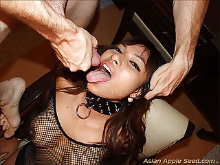 Asian Wife Offers Rectum To All And Sundry