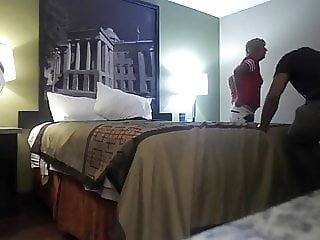 HotWife with black bull hidden cam gift to her hubby