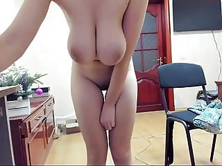 mega busty skinny cam girl naked in cam for our pleasure