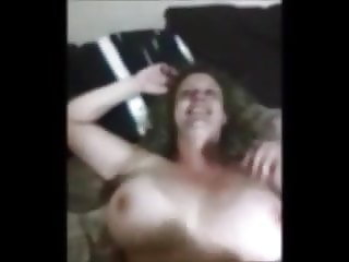 Unseen real cheating wife POV jiggling big tits and doggy