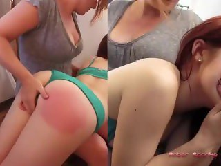 Spanked to Orgasm