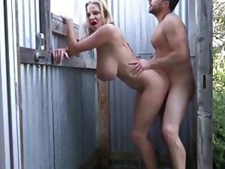 Unreal Busty MILF From Whore.Today Agreed for Sex in Shower