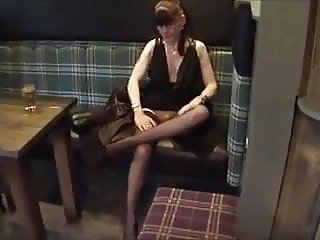 Flashing in an English  Pub