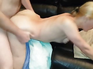 Husband Having Friend Over To Fuck His Sexy Blonde Wife