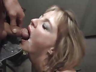 slut wife swallowing cum