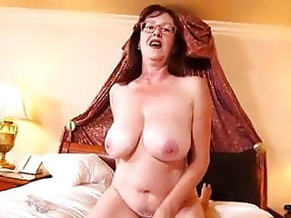 Sexy MILF getting her first POV scene