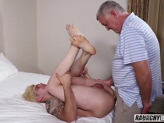 Muscle Teen Casting Goes Wrong And The Creep Director Fucks His Ass Raw