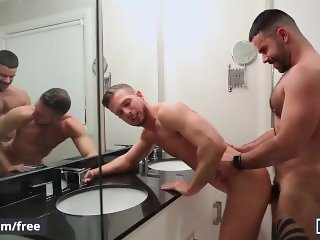 Men.com - Matthew Parker and Teddy Torres - The Dinner Party Part 2 - Drill