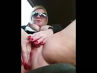 Horny in the car