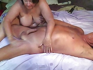 Wife and I getting a great massage with a happy ending
