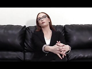 Young redhead trying her first anal fuck