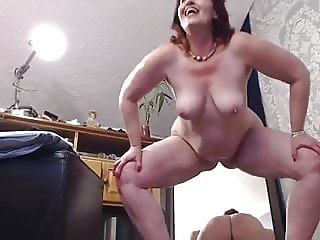 Mature Dawn filming herself masturbating 2
