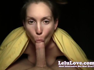 I ride YOU front and reverse cowgirl until you cum inside me creampie