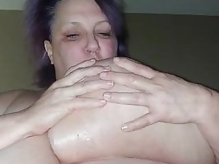 Huge boob ssbbw slut shows off