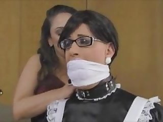 Sissy Maid Cleaning