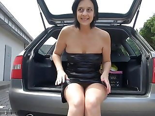 German wife loves trailer hitch