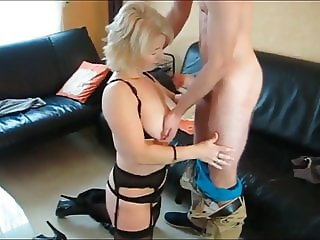 Naughty  Busty Mature MILF While Husband on Business Trip
