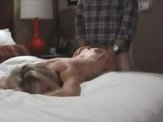 Blonde wife creampied by bbc and then hubby takes a ride
