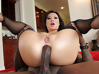 Asian Perfection Asa Akira vs Anal BBC