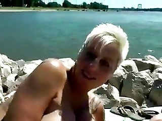 mature victoria pov beach pool FHD