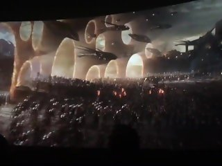 Avengers Endgame: Final battle scene