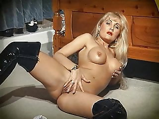 HUMAN NATURE - blonde beauty striptease dance