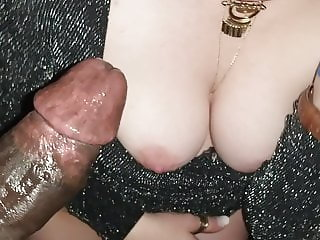Redhead Wife Blows BBC at Party Cuck Watches