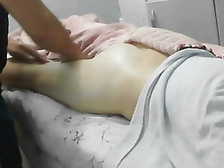 Hidden camera catches wife in massage session
