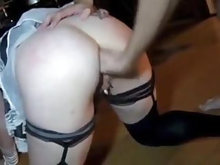 Adeline - Soubrette ass fucked and fisted