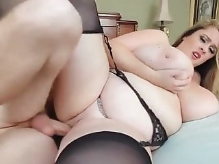 Fat chick having a party on a dick