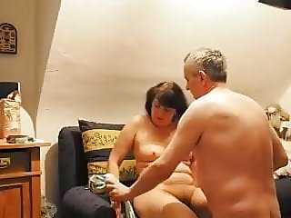 Mature and aged husband wife sex session