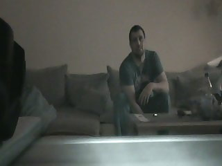 horny blowjob of my wife till i spit in her mouth spycam