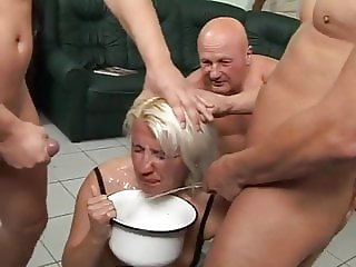 dirty used blonde piss babe