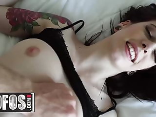 Lets Try Anal - Anna De Ville - Tattooed Cutie has Morning