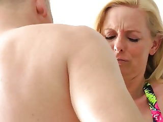 hot mature wife loves anal sex with tourist on vacation