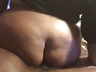 Bbw takes my dick up the ass good