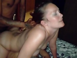 Titty fuck and extreme blowjob ending in a juicy facial
