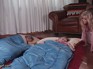 MommysGirl Horny Stepmom Caught Fapping to Step-Teen & BFF