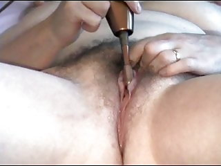 Homemade GILF Wife pussy contractions & juices run