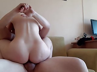 My last fuck with this nice ass milf