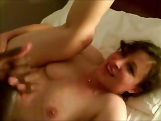 Wife Can't get enough BBC while hubby films