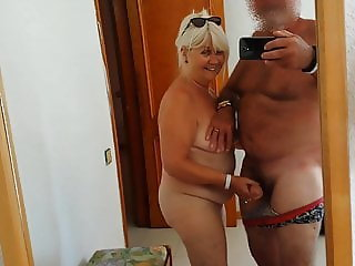 My old cock sucker on holiday