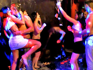 Once these horny teens get started they are uncontrollable!  In this Teenamite video, the group gets together for a night out and end up having a wild teen sex party. The girls are all a bit drunk and giggle while stripping out of their clothes and dancin